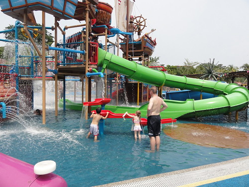 Water park on Sentosa Island (Singapore)