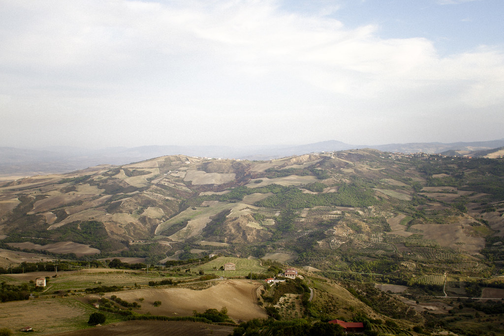 countryside view over Basilicata, Italy 2
