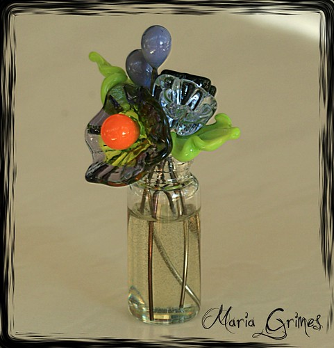 Halloween Flower BOOquet