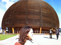 Claudia at the Globe