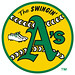 The SWINGIN' A's rout Rangers to win wild, wild West