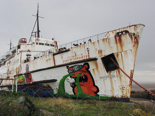 Duke of Lancaster, near Mostyn