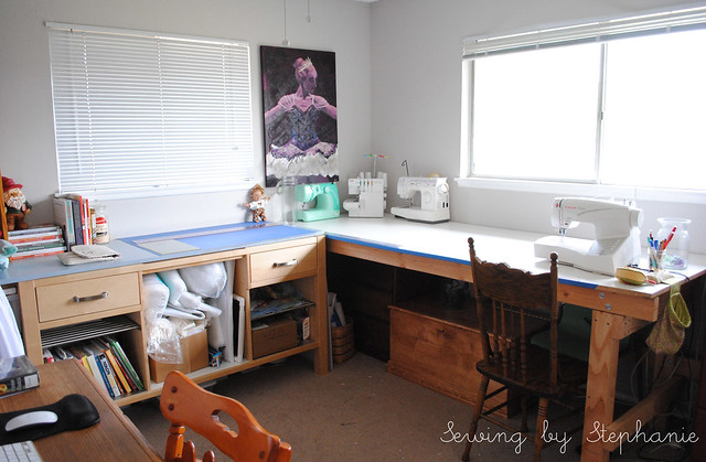 My Sewing Room: The Tables