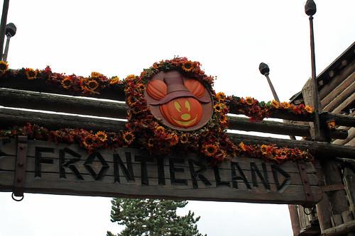 Halloween in Frontierland