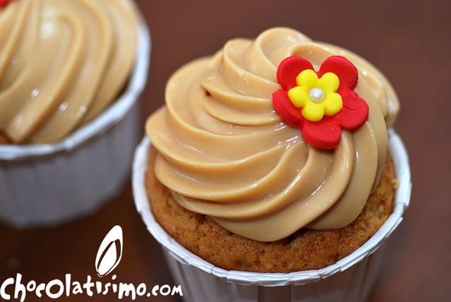 Cupcakes dulce de leche ¡Con frosting delicioso!