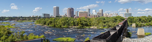 Richmond VA James River Pano 3