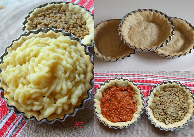 tortini di patate e carne