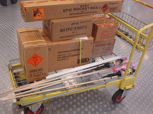 #EpicFireworks - Firework Customers