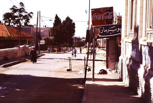 Coca-Cola-small-bar-at-Bireh-Cisjordan-Palestine-administration-2002 by roitberg