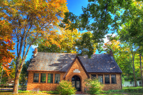 michigan petoskey bayview chautauqua library libraries fall autumn architecture bayview11241 hdr11241 petoskey11241 fall11241 autumn11241 mi photography miphotography crookedtreeartscenter petoskeycameraclub petoskeyphotographyclub crookedtreephotographicsociety
