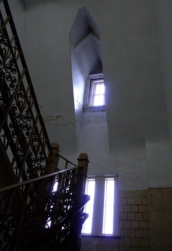 stairway arch window