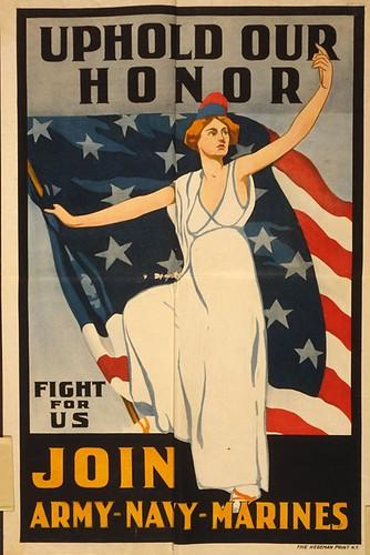 019-Defiende nuestro honor - Únete a nosotros para luchar con Ia nfantería de Marina-Library of Congress