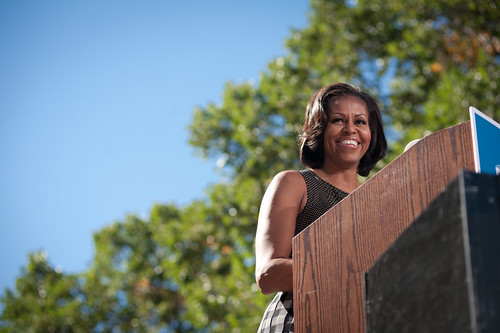 Michelle Obama in Reno—October 3rd