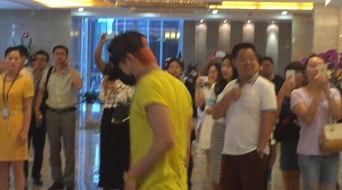 BIGBANG lArrival Shenzhen from Seoul 2015-08-07 014