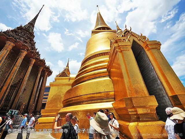 泰國曼谷景點 大皇宮 玉佛寺  93