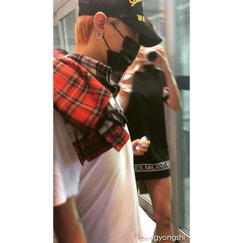 BIGBANG departure to Shenzhen 2015-08-07 (3)