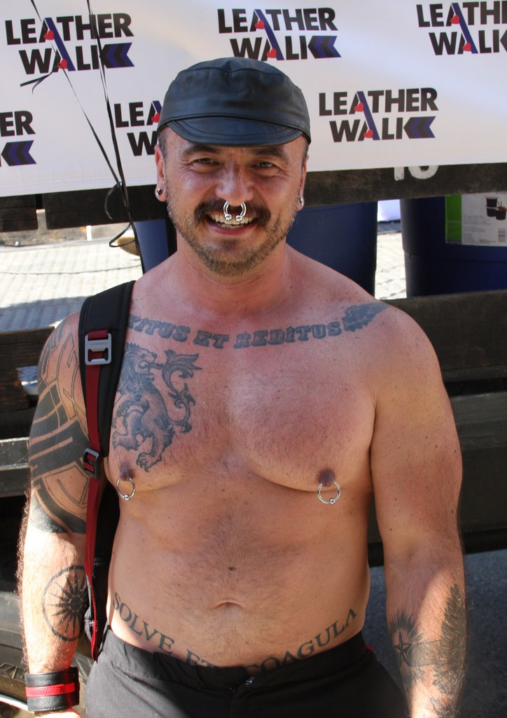 HOT BEARS at the LEATHER WALK 2016 ! ( safe photo )