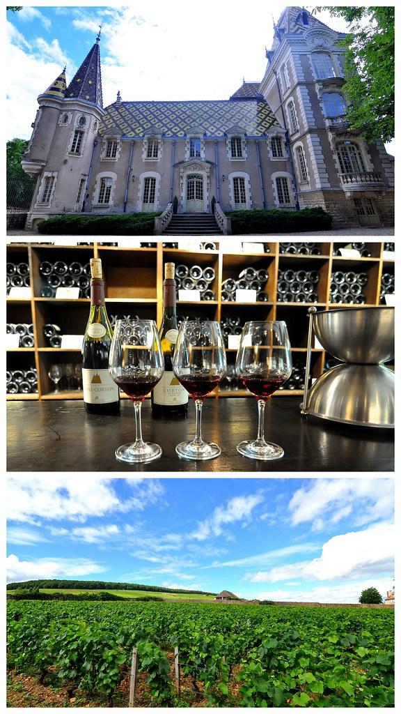 Burgundy, France Collages