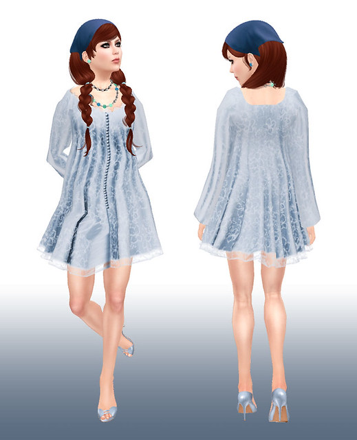 Baby Buttons Mesh Dress From Ever An Angel