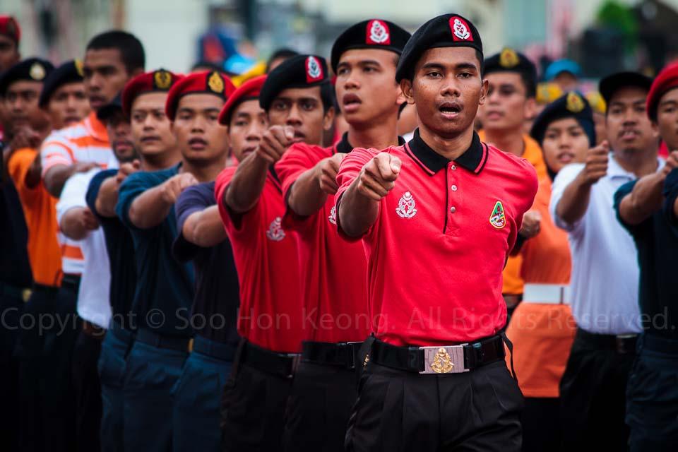 Malaysia Independence (Merdeka) Day Rehearsal @ Dataran Merdeka, KL, Malaysia