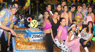Zumba Retro Party + Jean Carlos B-Day @ Gold' GyM, Moca