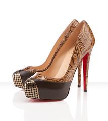 basic pump, brown, footwear, shoe, high-heeled footwear, leather, beige, tan,