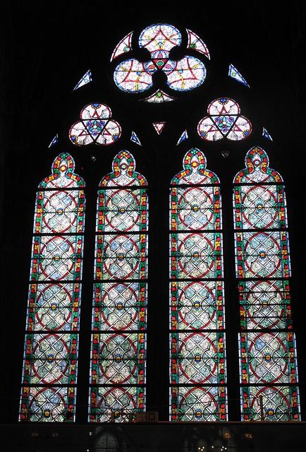 Notre Dame window