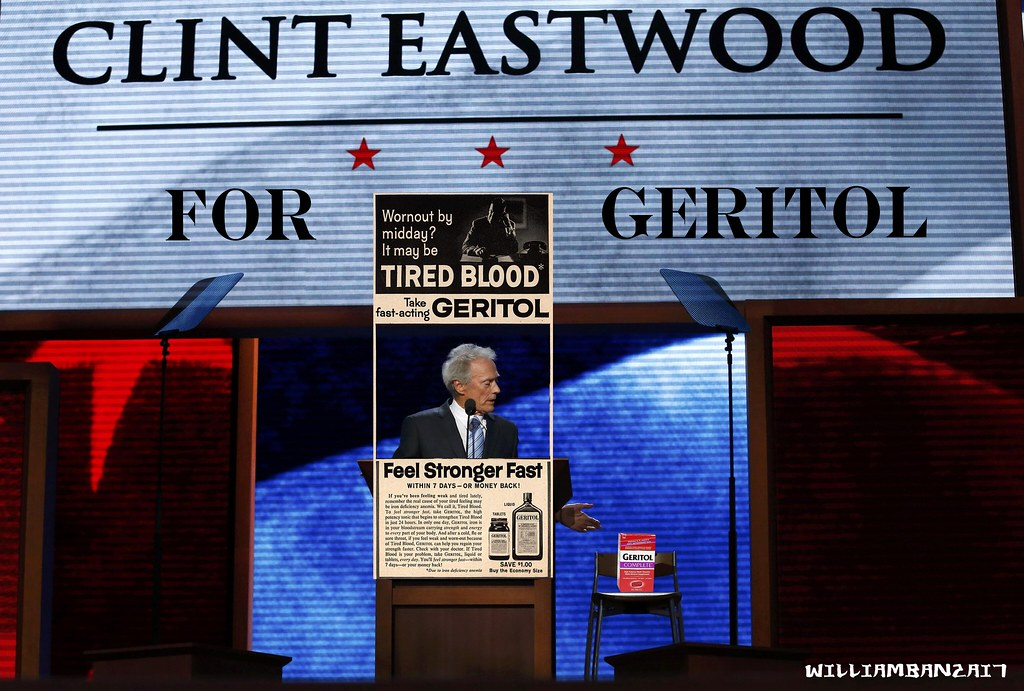 CLINT EASTWOOD FOR GERITOL