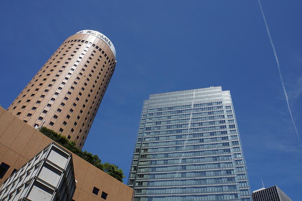 the sky in Umeda