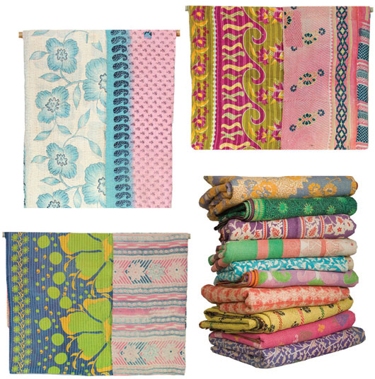 Blogging Thoughts & Kantha Quilt Love