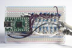 Vector display driver board