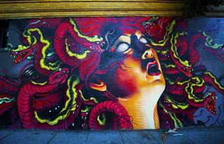 Medusa on Brick