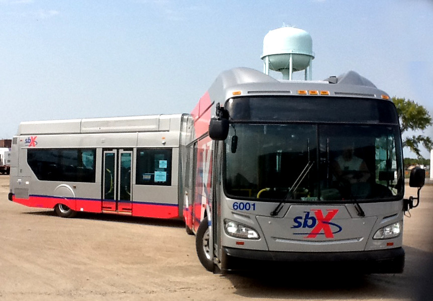 sbX Articulated Bus
