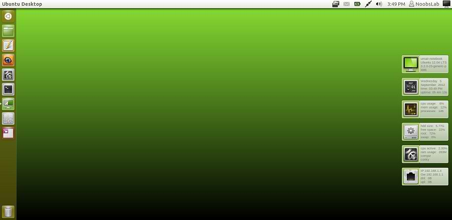 conky green