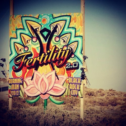 Entrance to #burningman2012