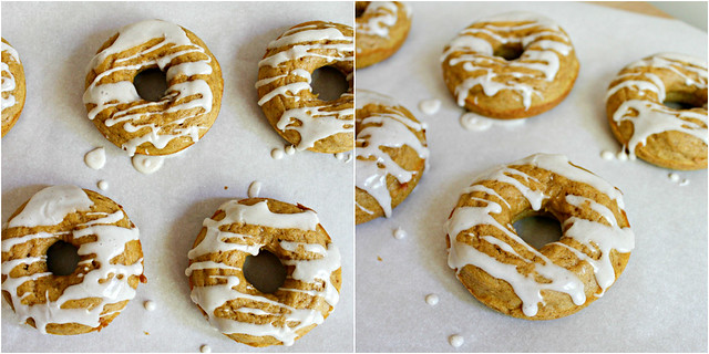Southern Pink Lemonade: Baked Pumpkin Doughnuts with Maple ...