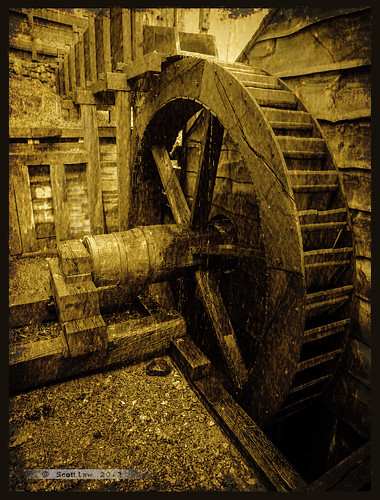 Saugus Water Wheel by Just Used Pixels