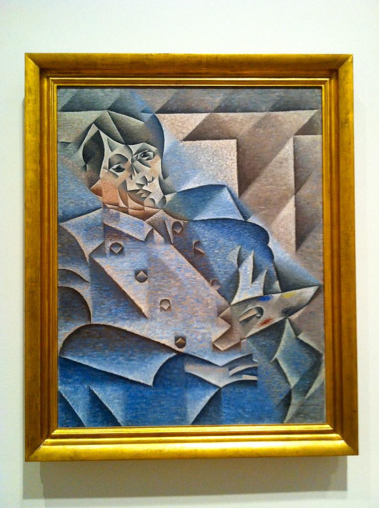 Portrait of Pablo Picasso, Juan Gris, 1912