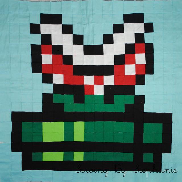 Super Mario Brothers QAL: Piranha Plant
