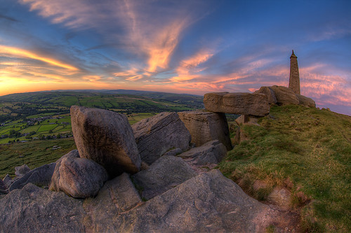 Wainman's Pinnacle, Cowling, Yorkshire