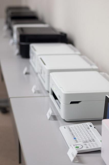 EPSON製品展示