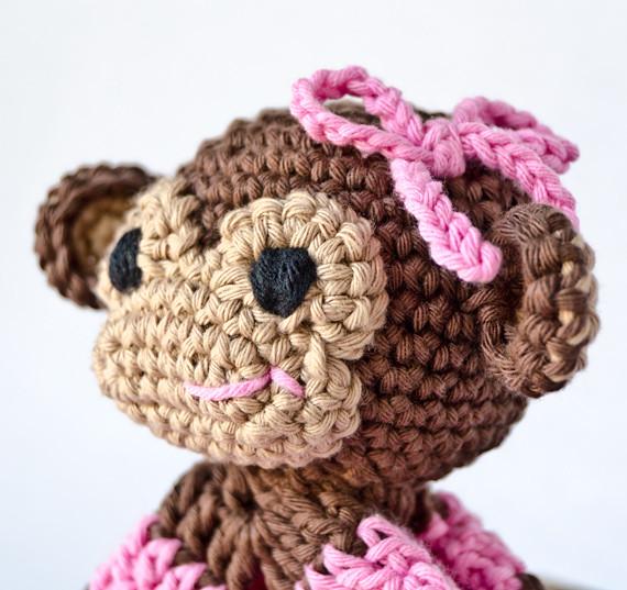 Monkey Lovey Blanket Crochet Pattern Flickr - Photo Sharing!