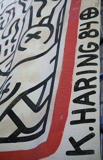 Keith Haring - The Marriage of Heaven and Hell [1985] - detail
