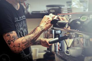 Williams, Barista at Bru Coffee Bar ~ Los Feliz, California