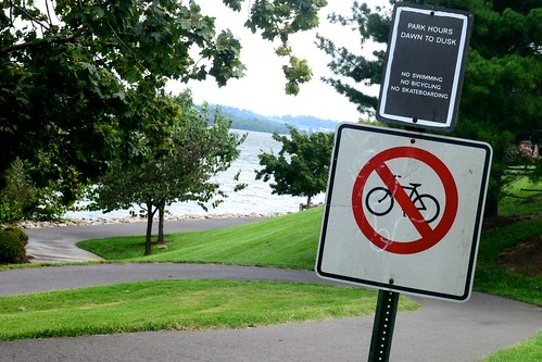 No Bikes on Trail