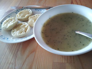 Zucchini Garlic Soup