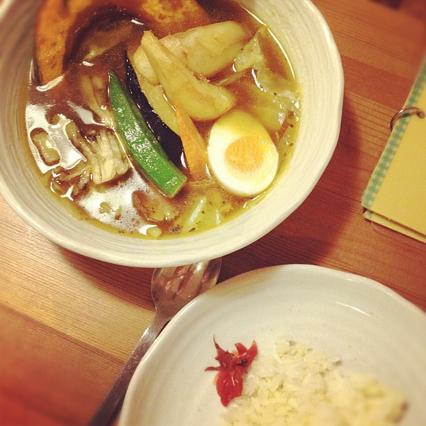 Vegetable curry. #takaoka #japan #dinner