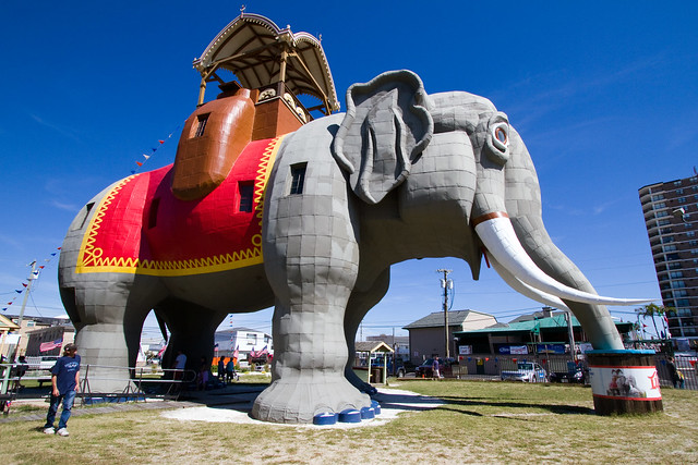 lucy the elephant, margate city, new jersey