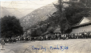 Snow Day in at Mount Baldy in 1924