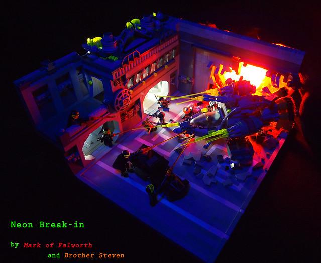 Neon Break-in